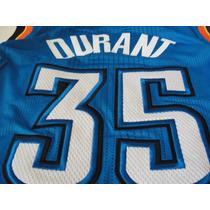 Jersey Kevin Durant #35 Oklahoma City Thunders Autentico