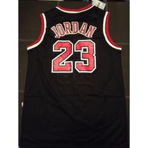 Jersey Michael Jordan 23 Bull Nike Nba Original Negro