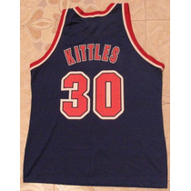 Jersey Nba, Talla 48 De Adulto Large Champion, Kittles, Nets