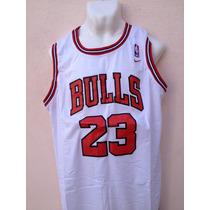 Jordan Clasico Jersey Blanco Bulls Chicago Envio Gratis!