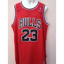 Jordan Clasico Jersey Rojo Bulls Chicago Envio Gratis!