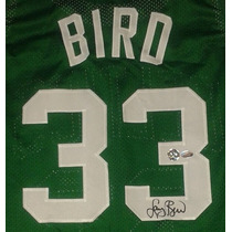 Jersey Autografiado Firmado Larry Bird Boston Celtics Nba