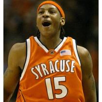 Jersey Nba, Carmelo Anthony, Syracuse 2001, Firma Bordada