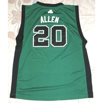 Jersey Nba, Mediano De Adulto, Allen, Boston Celtics, Adidas