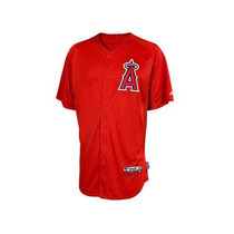 Majestic Authentic Anaheim Angels Jersey Cool Base Nvo