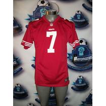 Jersey Oficial Nike Nfl 49ers San Fransisco 7-kaperncik Med