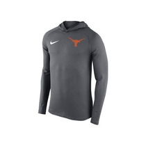 Nike Texas Longhorns Ncaa Stadium Dri-fit Touch Hoody Nueva