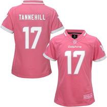 Jersey Nfl Infantil Para Niña Miami Dolphins Ryan Tannehill