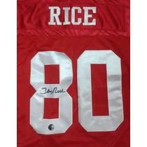 Jersey Autografiado Firmado Jerry Rice San Francisco 49ers