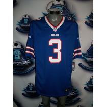 Jersey Oficial Nike Nfl De Buffalo Bills 2015 Ej Manuel #3