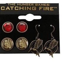 Aretes Sinsajo Catching Fire Hunger Games Juegos Del Hambre