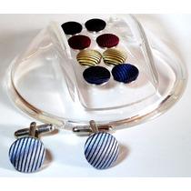 Mancuernillas Francesas Warmans /cufflinks /camaleon