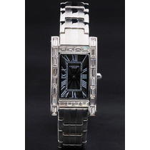 Reloj Unisex Nuevo Con Zirconias Tipo Diamante