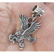 Aguila Con Serpiente 1 Precioso Dije De Plata Tibetana 0308