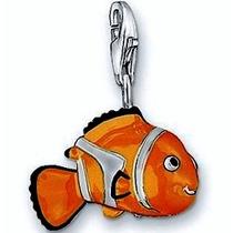 Dije-nemo Pez -pescado-plata.925- Esmaltado-flete Gratis