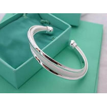 Pulsera Brazalete Plata Esterlina 925 Made In Italy Pm0