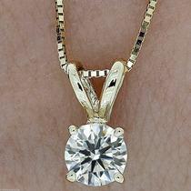 Dije Oro 14k Diamante 100% Natural Si1 H .20 Cts Unisex