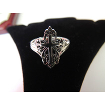 Anillo Plata .925 Diseño Templario Único En M L Cruz Op4
