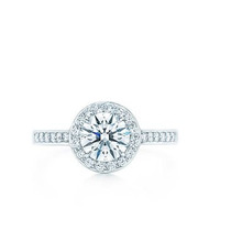 Anillo De Compromiso Con Diamante De 1.00 Ct. En Oro 18k.