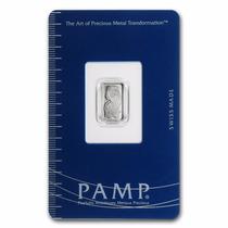 Lingote Pamp Suisse 1 Gramo Platino Puro 999.5 Certificado