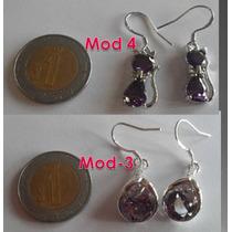 Lindos Aretes De Plata 925-gatos-moda-joyas-dama-niñas