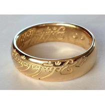 Anillo 14k Oro Sauron Señor Los Anillos Frodo Bilbo Hobbit