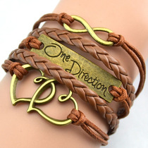 Brazalete Piel Infinite Directioner One Direction
