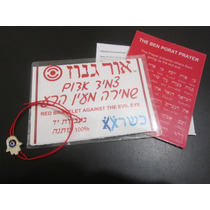 Pulsera Hilo Rojo De La Kabbalah Hecha En Israel Mano Hamsa