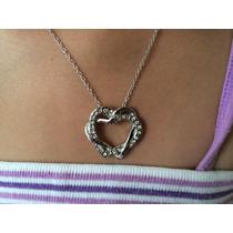 Collar Corazon De Cristal Swarovski Amor Por Siempre