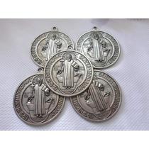 Medalla De San Benito De 5 Cm De Diámetro