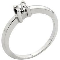 Bello Anillo De Compromiso Diamante 100% Natural 0.50cts.