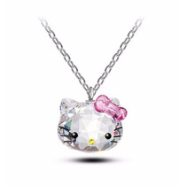 Hello Kitty, Dije Corte Swarovski Element, Regalo Amor Mamá
