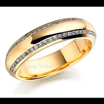 Argollas De Matrimonio Mod. Bureau Oro 14k Matrimoniales