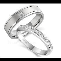 Argollas De Matrimonio Mod. Couture En Oro 10k Matrimoniales