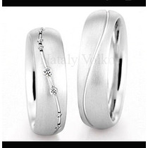 Argollas De Matrimonio Mod. Aimer Oro 14k Matrimoniales