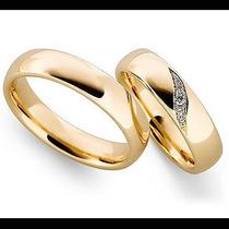 Argollas De Matrimonio Mod. Poesie Oro 14k Matrimoniales