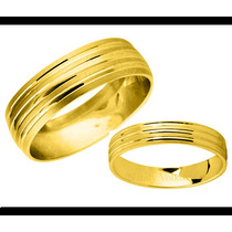 Argollas De Matrimonio Mod. Joie Oro 14k Matrimoniales