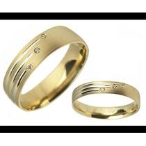 Argollas De Matrimonio Mod. Catherine Oro 18k Matrimoniales