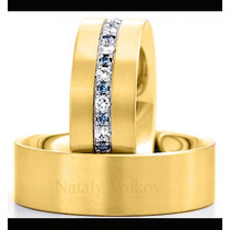 Argollas De Matrimonio Mod. Romantique Oro 14k Matrimoniales