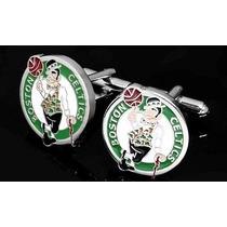 Mancuernillas Celtics De Boston Nba Basketball Logo Camisa