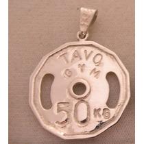 $600 Disco Olímpico Personaliza 30mmdia Plata950 Enviógratis