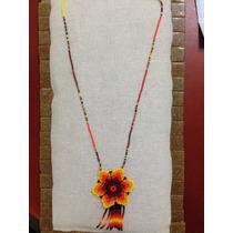 Collar De Arte Huichol Artesanal