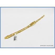 Esclava Cartier Placa Con Oro Amarillo 24k Acc Envio Gratis