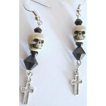 Aretes Craneos Calaveras Dark Gotico Punk Goth Pastel