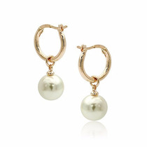 Aretes De Perla Italiana