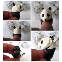 Bisuteria Accesorio Anillo Autoajustable De Panda