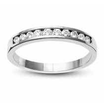 Churumbela Oro Blanco 14kt 0.41ct Diamante Natural G-h, Vs