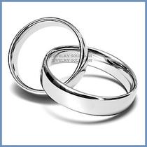 Elegantes Argollas Matrimonio Oro Blanco Plata Envio Gratis
