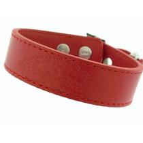 Pulsera Emporio Armani Red Piel Diseño De Julia Roberts
