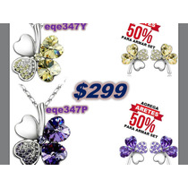 Todo Swarovski Elements $299, Caja De Regaloswarovski Gratis